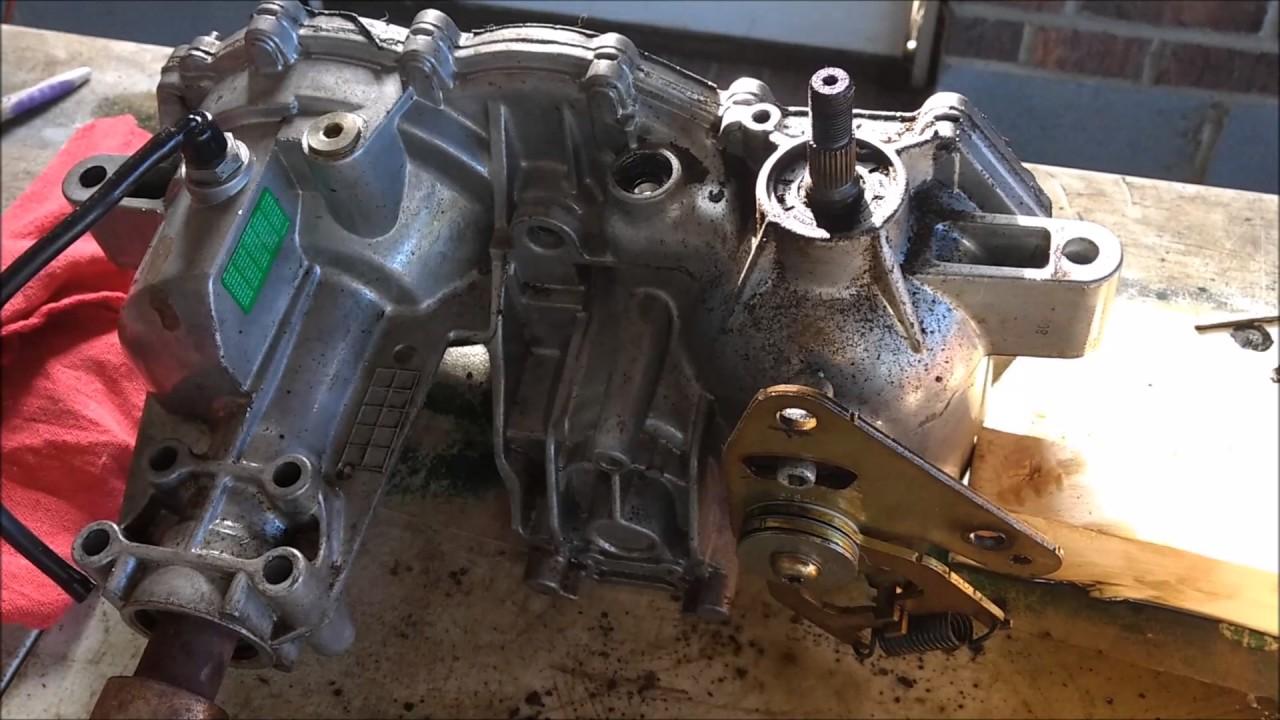 Cub Cadet RZT 50 Hydrostatic Transmission Rebuild