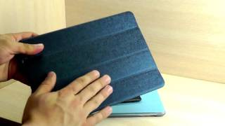 """ОБЗОР: Эксклюзивный Чехол-Подставка Smart Cover для IPad Air """"Hoco"""". Apple Smart Cover Обзор"""