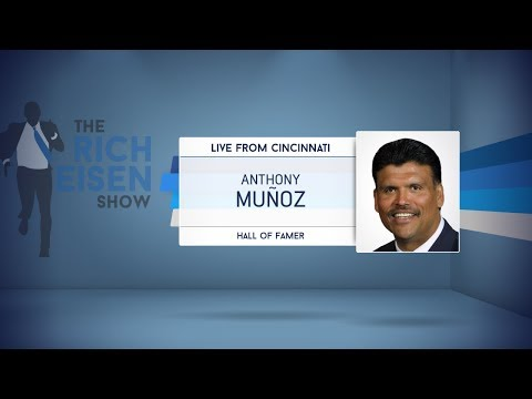 Pro Football Hall of Famer Anthony Munoz Talks Bengals Football & More - 9/14/17