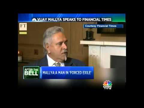 Vijay Mallya Speaks To Financial Times