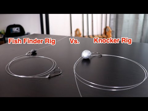 Fish Finder Rig Vs. Knocker Rig (When To Use Each Rig)