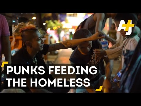These Punks Feed The Homeless In Yangon, Myanmar