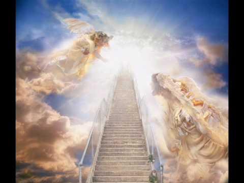 Led Zeppelin - Stairway To Heaven (Lyrics English & Deutsch)
