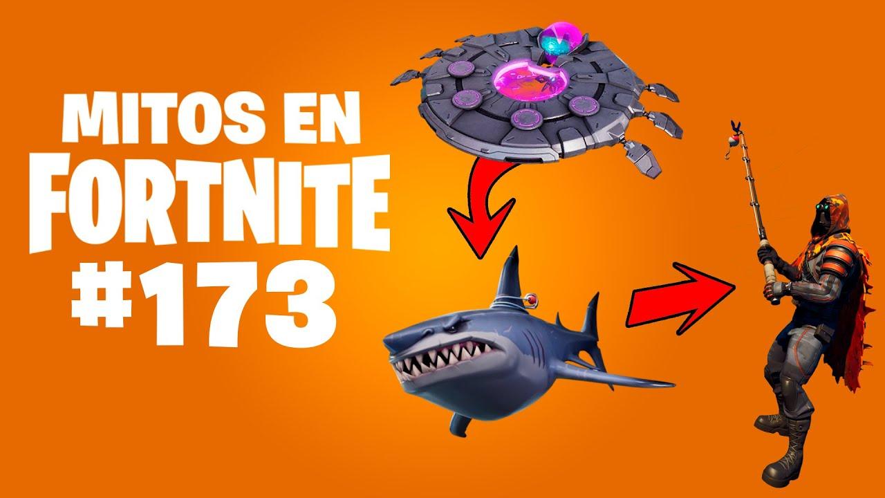 Lo que NO SABÍAS que se puede hacer con un TIBURÓN - Mitos Fortnite 173 #MitosFortnite