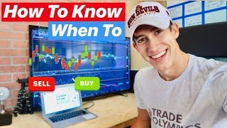 How To Know To Buy & Sell A Stock | Ricky Gutierrez