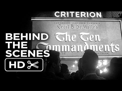 The Ten Commandments Behind the Scenes - The Premiere (1956) Charlton Heston Movie HD
