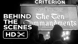 The Ten Commandments Behind the Scenes - The Premiere (1956) Charlton Heston Movie HD