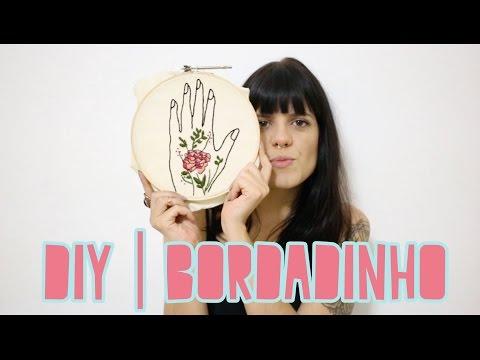 DIY #2 | QUADRINHO BORDADO DO AMOR