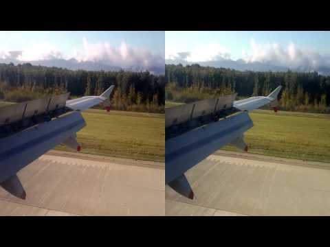 3D HD Flight to the Alps - Awesome 3D Quality