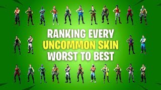 Ranking All Uncommon Fortnite Skins from Worst to Best