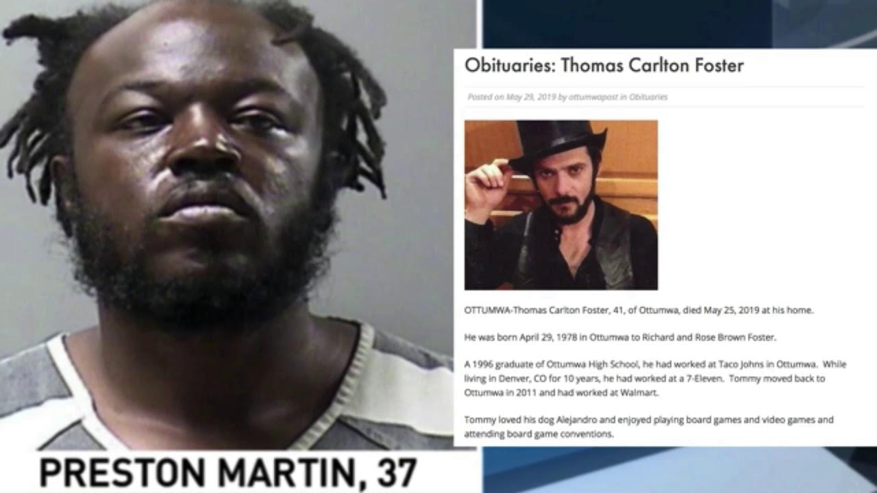 Black on white murder in that center of black violence: Ottumna, Iowa
