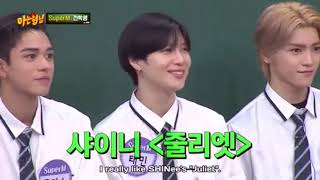 Heechul, mark, Taemin age difference ~ knowing bros | nct, Shinee, super junior