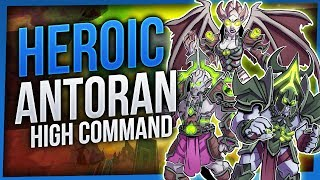 Antoran High Command | Heroic Antorus the Burning Throne | EnhShaman [WoW Legion 7.3.2]