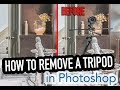 Download Photoshop Tutorial 2017 Remove a tripod from a reflection + retouching the rest of the photo MP3 song and Music Video