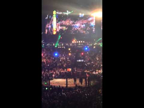 Conor McGregor Walkout UFC 196