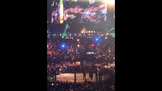 Conor McGregor walkout UFC 196