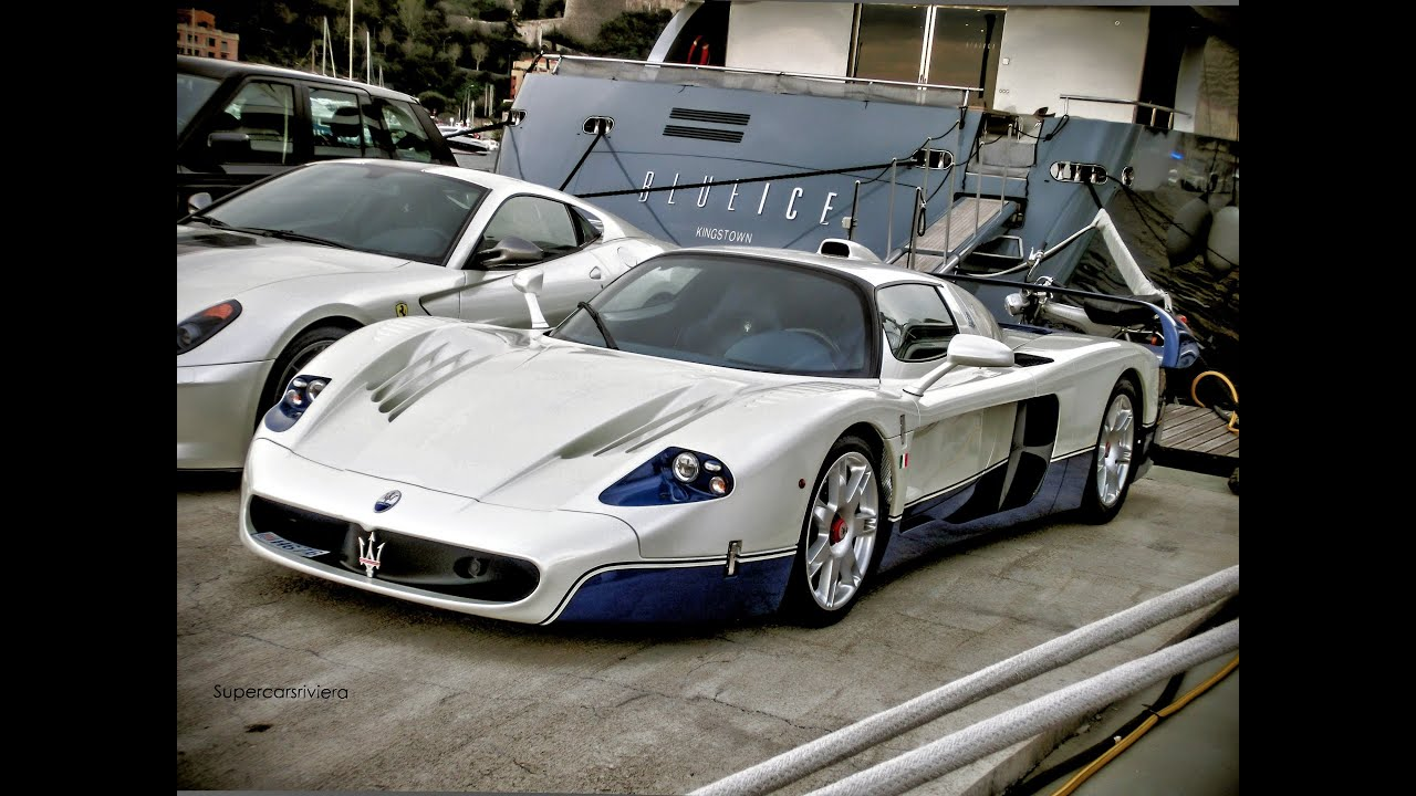 maserati mc12 in monaco ferrari 599 gto youtube. Black Bedroom Furniture Sets. Home Design Ideas