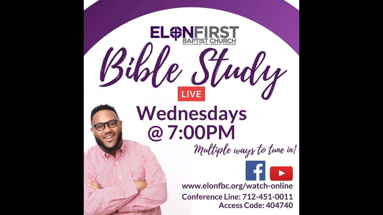 Bible Study 10.07.2020 - YouTube