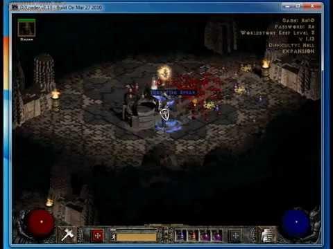 Diablo 2 high rune drop !