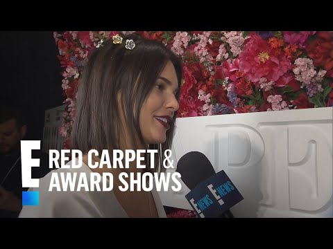 Kendall Jenner Talks Naomi Campbell Opening La Perla Show | E! Live from the Red Carpet
