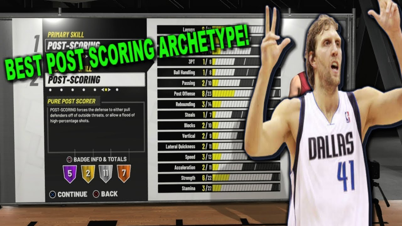 NBA 2K19 TIPS: HOW TO CREATE THE BEST POST SCORER BUILD ON NBA 2K19! DO NOT  MAKE THIS MISTAKE!
