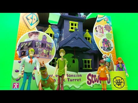 SCOOBY DOO Mystery Mansion a Spooky Scooby-Doo Haunted House Toy unboxing