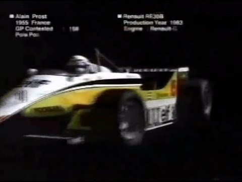 Intro F1 Fuji TV 1987 to 2006