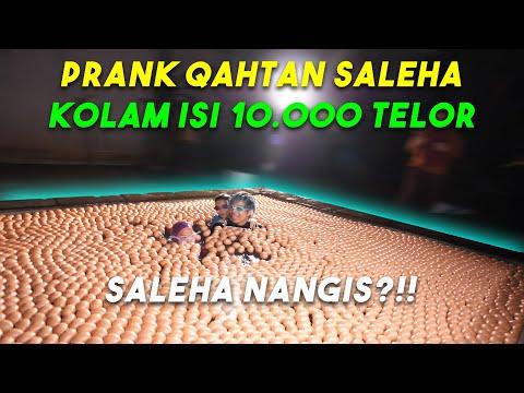 PRANK 10.000 Telor di Kolam Renang 😱