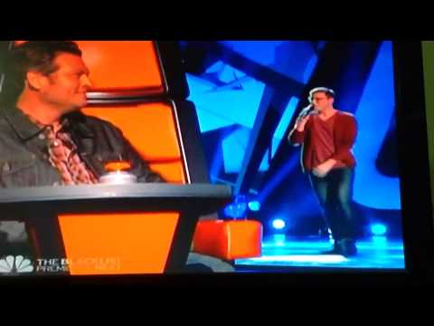 James Wopert's Performance on The Voice.