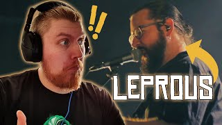 """Reacting to Leprous - """"Contaminate Me"""" - [Live at Rockefeller Music Hall]"""