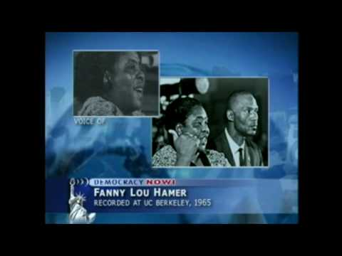 Fannie Lou Hamer, University of California, Berkeley 1965 (1/2)