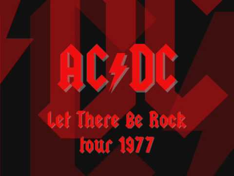 AC/DC - High Voltage - Live [Orebro 1977]