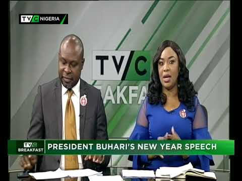 TVC Breakfast January 1st 2018 | President Buhari's New Year Speech