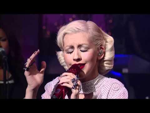 Christina Aguilera - You Lost Me [Live David Letterman] HD