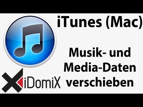 iTunes für Mac - Musik- und Media-Daten verschieben