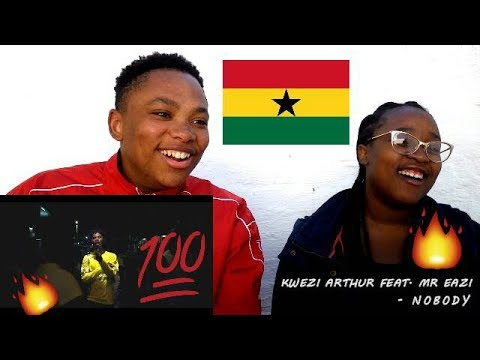 kwesi-arthur---nobody-feat.-mr-eazi-(official-video)- -reaction