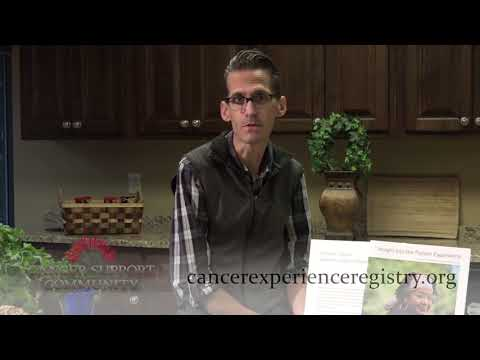 Join the the Stomach Cancer Experience Registry I Chef Hans Rueffert