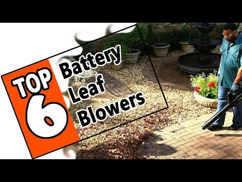 🌻 Best Battery Powered Leaf Blowers Of 2019 - The 6 Top Rated Battery Blowers For Homeowners