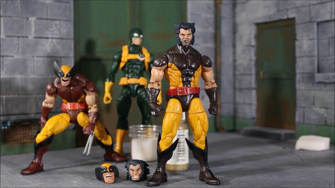 Beltran Customs Marvel Legends WOLVERINE & HYDRA BOB Heads
