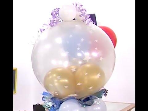 Como hacer una bomba grande llena de globos hogar tv por - Bombas para decorar ...