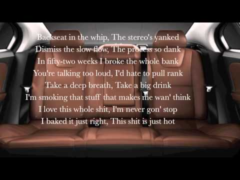 E-Dubble - Backseat  (lyrics)