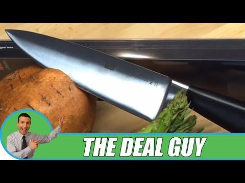 🔪 SHARPEST Chef Knife Deal ◄ J.A henckels 7-inch knife DEAL