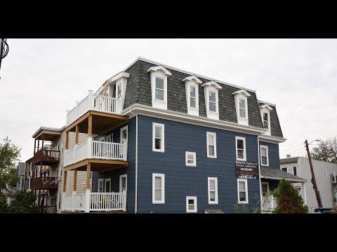 GoPro Timelapse Of New Mansard Roof On Washburn St, South Boston
