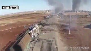 Сирия 2016 Syria. Рождественские подарки от ВКС РФ для ИГИЛ 7 01 2016