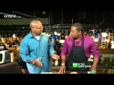 In The Green Room with Aaron McCargo, Jr.  - CBN.com
