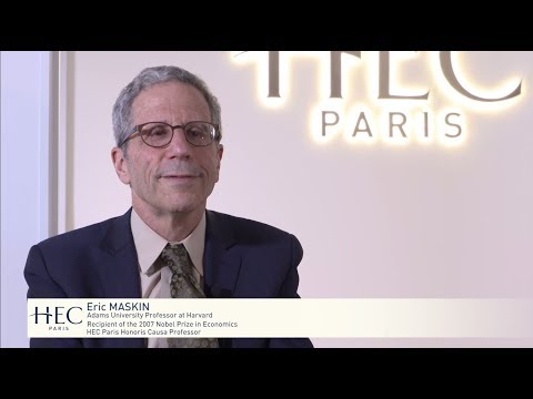 Eric Maskin : HEC Paris Honoris Causa Professor - YouTube