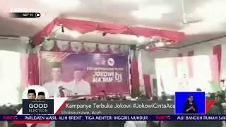 Jokowi Kampanye Terbuka di Lhokseumawe NET12