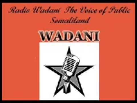 Radio Wadani codka shacabka Somaliland Xidhidhiyah.North Americawa Salebaan