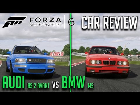 Audi RS 2 Avant vs BMW M5 | Forza 6 Car Review/Comparison!