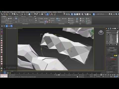 Folding 03: Folding based on 3d objects in 3ds max